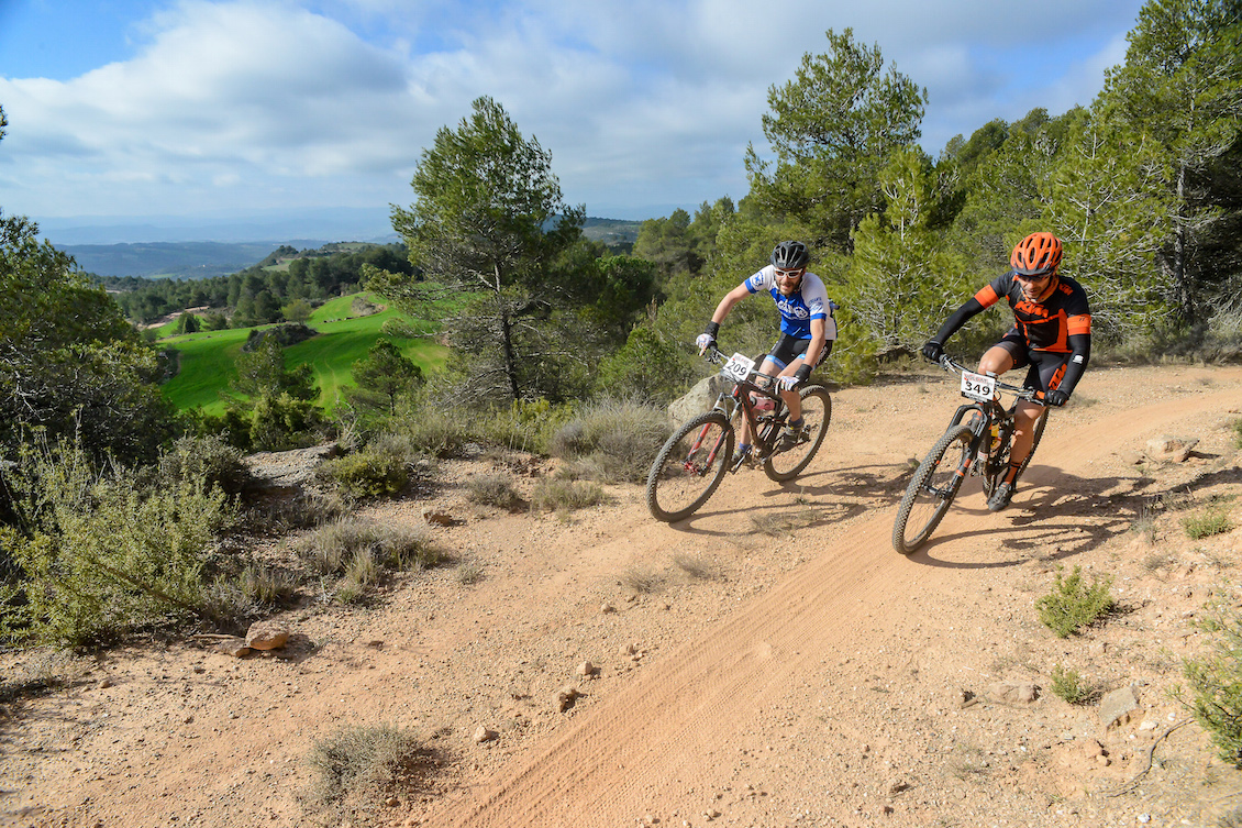 Jordi Bonet from Mtb Dreams Cycling travel agency  and Carlos López from KTM bike industries